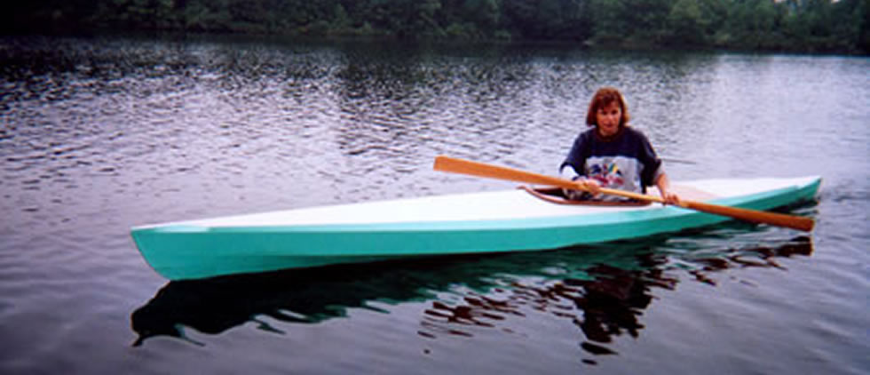 English Kayak skin-on-frame-kayak kit