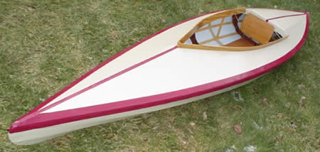 English Kayak designed by Percy Blandford