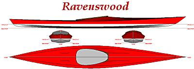 Ravenswood skin on frame kayak
